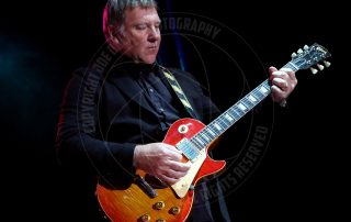 Alex Lifeson of RUSH