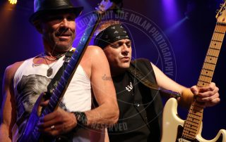 Chris Hager former Rough Cutt - Erik Ferentinos with Stephen Pearcy