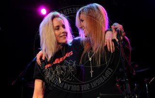 Lita Ford and Cheri Currie of the Runaways