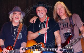 Brad Whitford of Aerosmith Derek St Holmes former Ted Nugent and Brad Lang former Jet Red