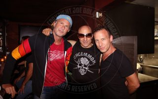 Chad Smith of the Red Hot Chili Peppers - Kenny Aronoff drum legend - Stephen Perkins of Janes Addiction